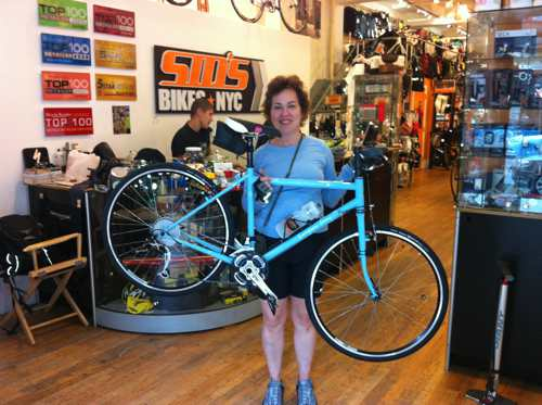 Lightweight Terry steel bicycle
