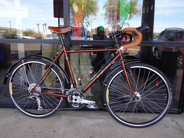 REI Tempe and a Georgena Terry Bicycle