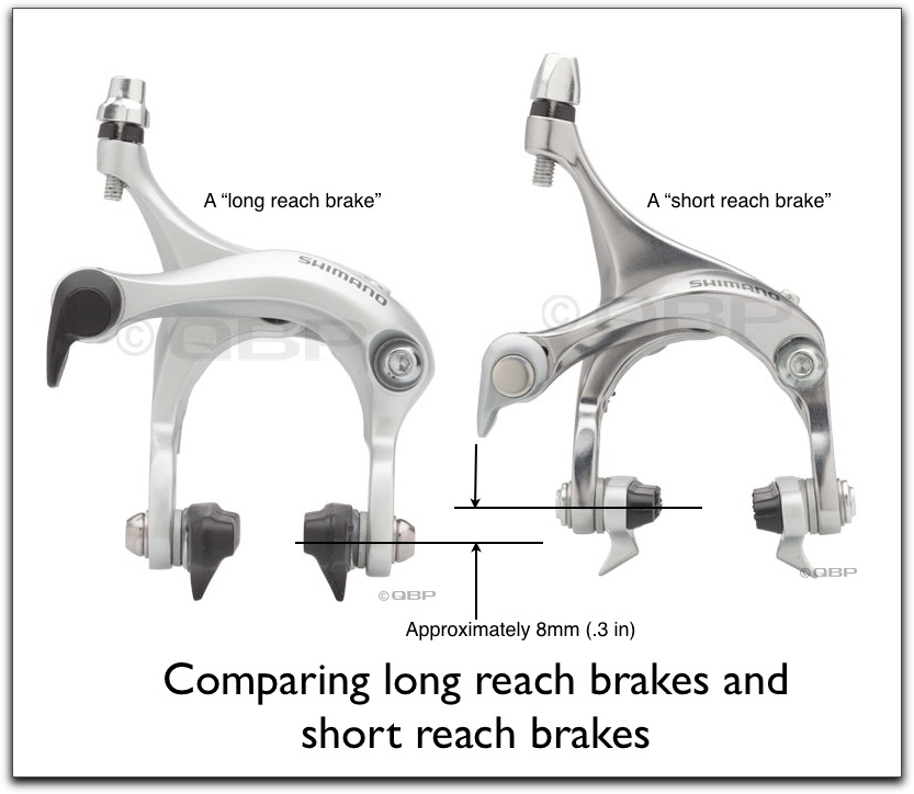 Short Reach Brakes versus Long Reach Brakes